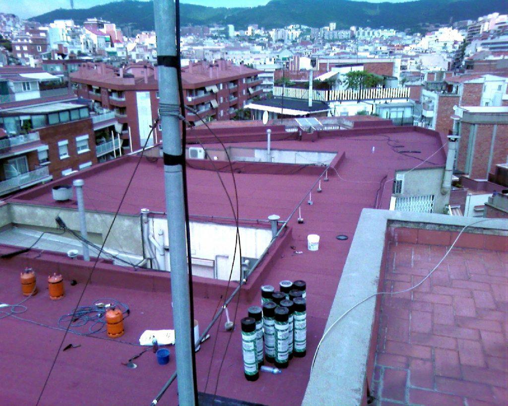 Rehabilitación de terrados en Barcelona